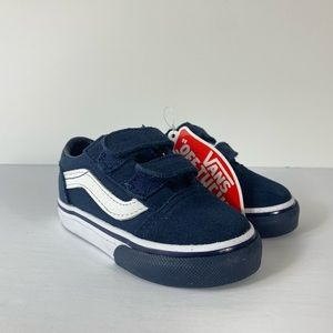 Vans Old V Mono Bumper Dress Blues Sneakers